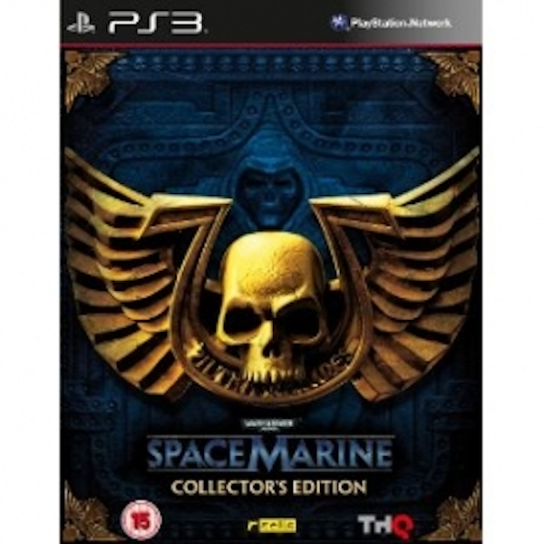 Warhammer 40.000 Space Marine Collector's Edition Game PS3