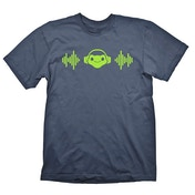 Overwatch Mens Lucios Beat Charcoal Large T-Shirt