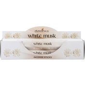 6 Packs of Elements White Musk Incense Sticks
