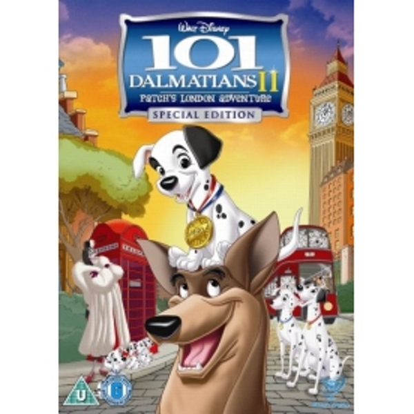 101 Dalmatians II - Patch's London Adventure DVD