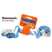 Rosewood Twistable Tug Bone Dog Toy