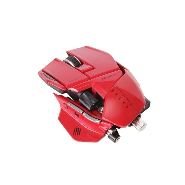 Cyborg R.A.T RAT - 9 Wireless Gaming Mouse Red PC ...