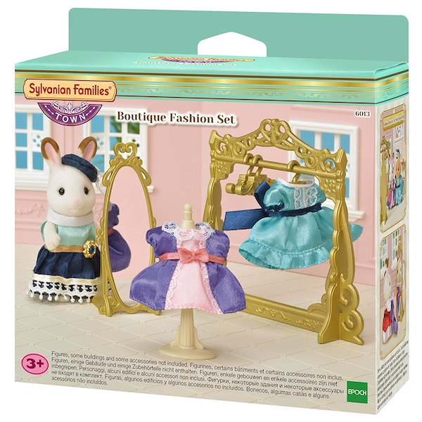 Sylvanian Families Town Series Boutique Fashion Set