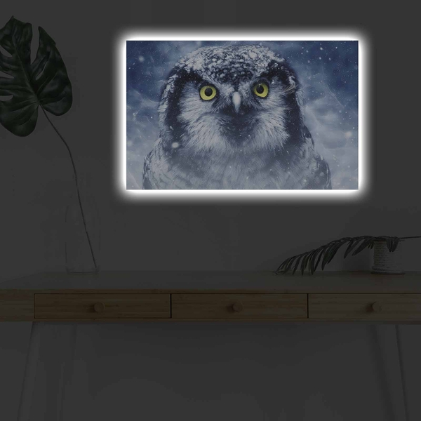 4570DHDACT-070 Multicolor Decorative Led Lighted Canvas Painting