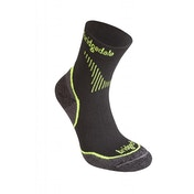 Bridgedale Men's Coolfusion Run Qw-Ik Socks Lime UK Size 6-8.5