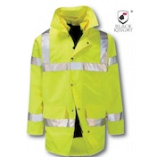 Black Knight Medium Bedivere High Visibility 4 In 1 Jacket - Yellow