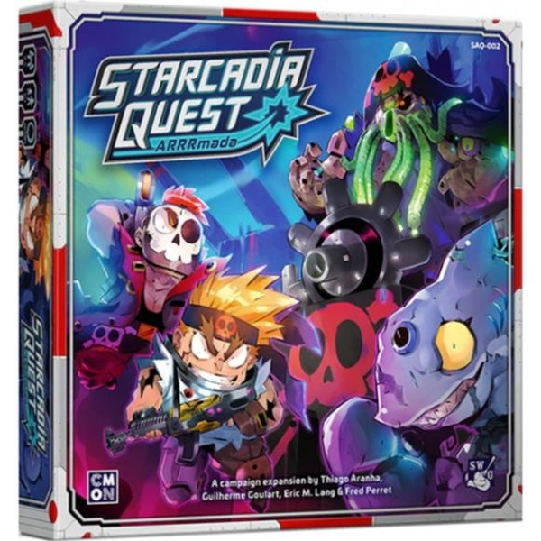 Starcadia Quest: ARRRmada Board Game Expansion