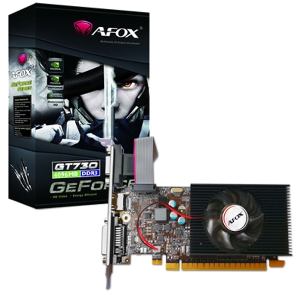 AFOX GeForce AF730-2048D3L6 GT730 2GB 128bit DDR3 Low Profile PCI-E Graphics Card