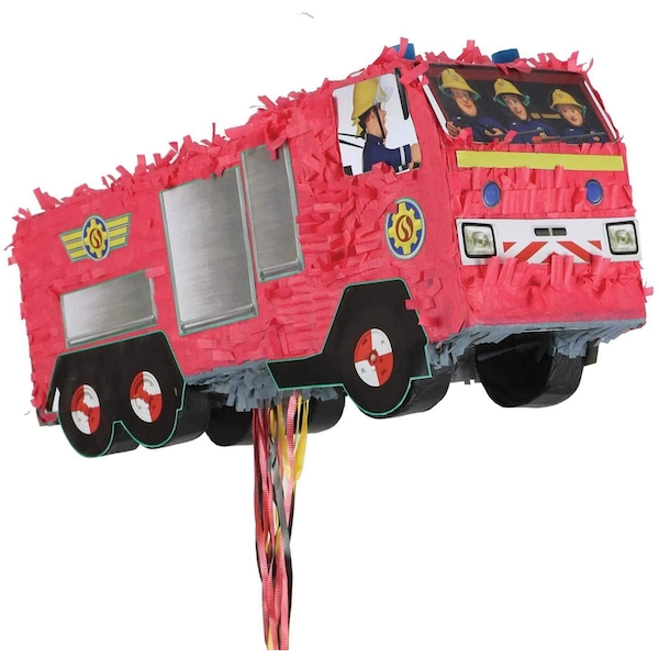 Amscan Pinata With Sam's Fire Truck