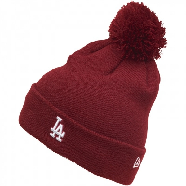 dbc8e645 Hey! Stay with us... New Era MLB Los Angeles Dodgers Knitted Bobble Hat ...