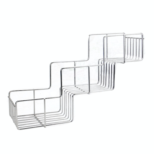 Adhesive 3 Tier Shower Caddy | M&W