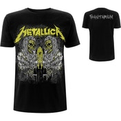 Metallica - Sanitarium Men's Large T-Shirt - Black