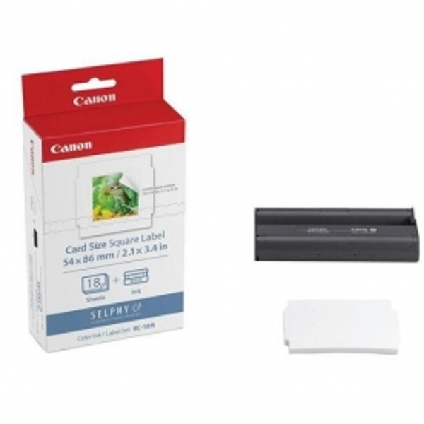 Canon KC-18IS SELPHY Square Format Paper for CP Series Printers