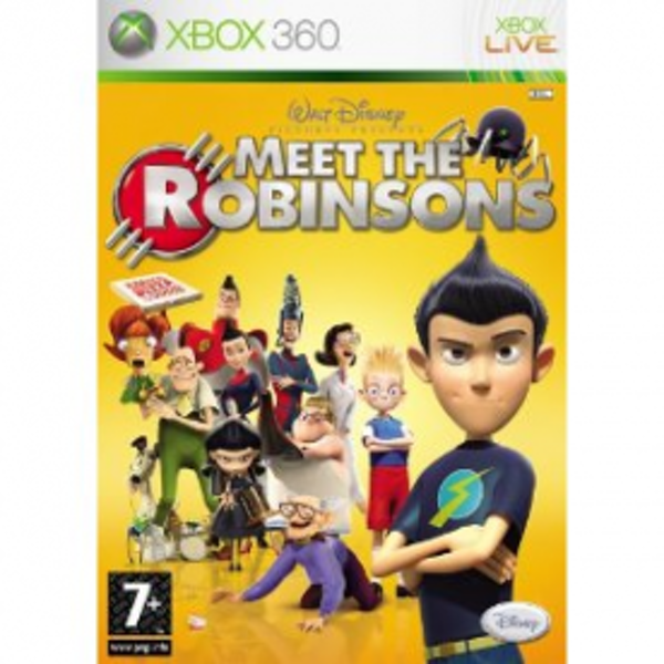 Disneys Meet The Robinsons Game Xbox 360