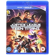 Justice League Vs Teen Titans Blu-ray