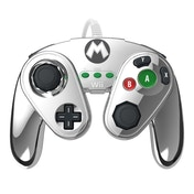 PDP Replica Metal Mario Wired Gamecube Controller Wii U