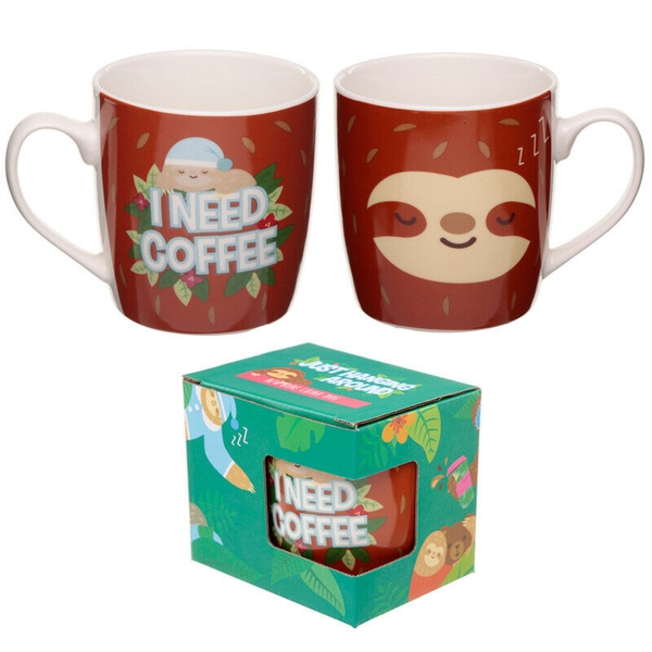 Sloth Design New Bone China Mug