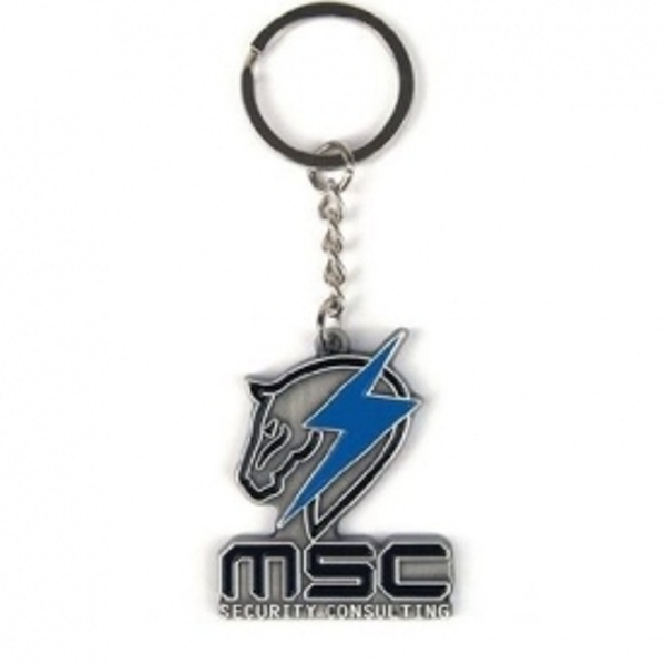 Metal Gear Solid Rising Maverick Metal Keychain