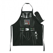 Star wars Apron and Oven Mitt Set Darth Vader