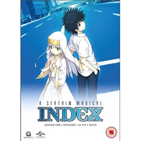 A Certain Magical Index Complete Season 1 Collection DVD