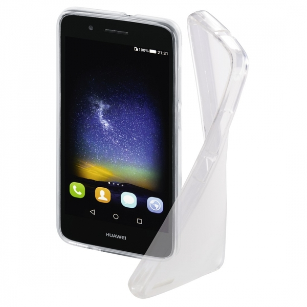 Hama Crystal Cover for Huawei GR3/P8 Lite Smart, transparent