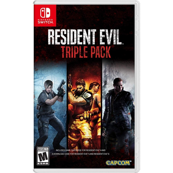 Resident Evil Triple Pack Nintendo Switch Game - Image 1
