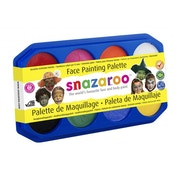 Snazaroo Face Paint Palette - 8 x 18ml Colours