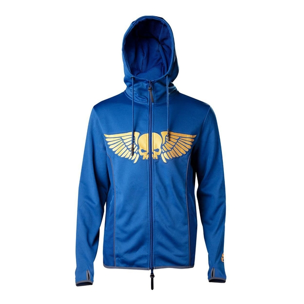 Warhammer 40K - Space Marines Logo Men's Medium Hoodie - Blue