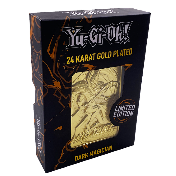 Dark Magician (Yu-Gi-Oh) Gold Limited Edition Collectable Ingot