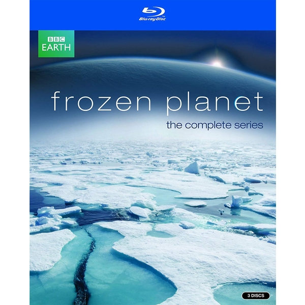 Frozen Planet The Complete Series Blu-Ray