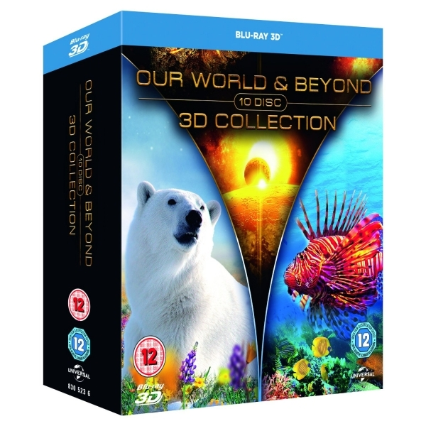 Our World & Beyond 3D Collection Blu-ray