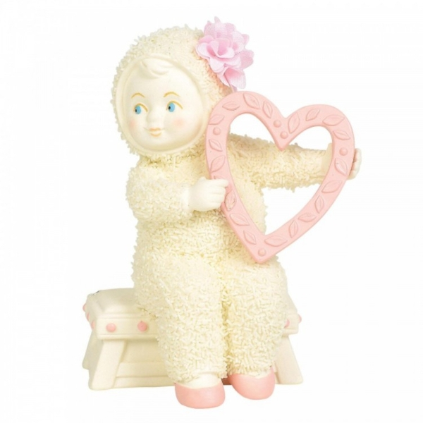 With All My Heart Snowbabies Figurine
