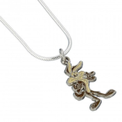 Official Looney Tunes Willie E Coyote Necklace