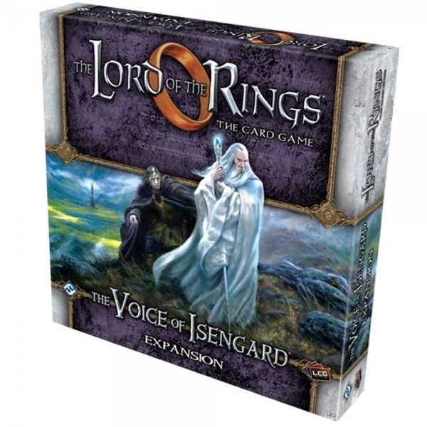 The Lord of the Rings Voice of Isengard Expansion Board Game
