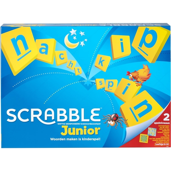 Mattel Games - Junior Scrabble Board Game