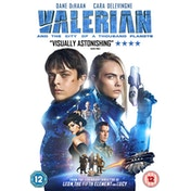Valerian And The City Of A 1000 Planets DVD