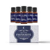 Mystic Moments Favourite Essential Oils Gift Starter Pack (Eucalyptus Blue Gum, Lavender, Orange Sweet, Patchouli, Tea Tree)