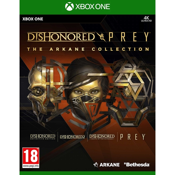 Dishonored & Prey The Arkane Collection Xbox One Game