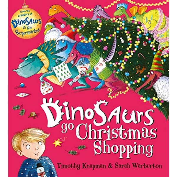 Dinosaurs Go Christmas Shopping  Paperback / softback 2018