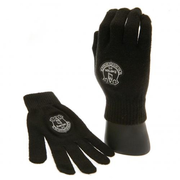 Everton FC Knitted Junior Gloves