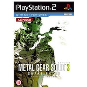 Metal Gear Solid 3 Snake Eater Game PS2