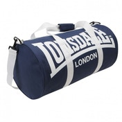Lonsdale Barrel Bag Navy & White