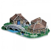 Lord Of The Rings Hobbiton 3D Jigsaw Puzzle