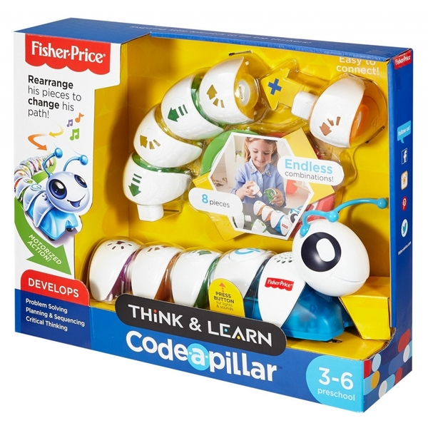Fisher Price Think and Learn Code-a-Pillar Toy - 365games ...