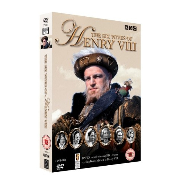 The Six Wives Of Henry VIII Complete Series DVD