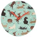 Catch Patch Dog Design Wall Clock - Image 2