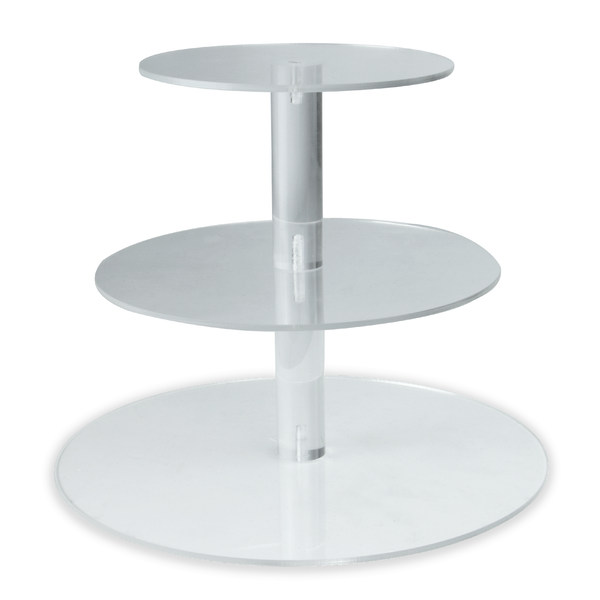 Acrylic Cupcake Stand | Pukkr 3 Tier New