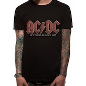 Ac/dc - Vintage Let There Be Rock Men's Medium T-Shirt - Black