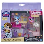 Littlest Pet Shop Style Pack Ice Cream Cafe