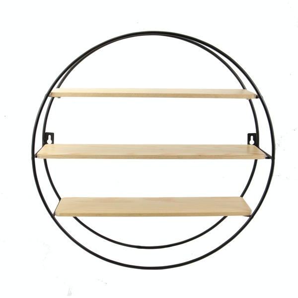 Floating Circle Shelf | M&W 3 Tier